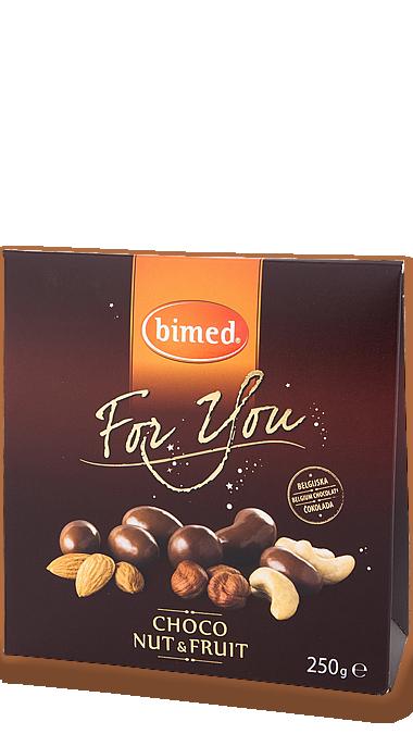 CHOCO NUT&FRUIT 250g