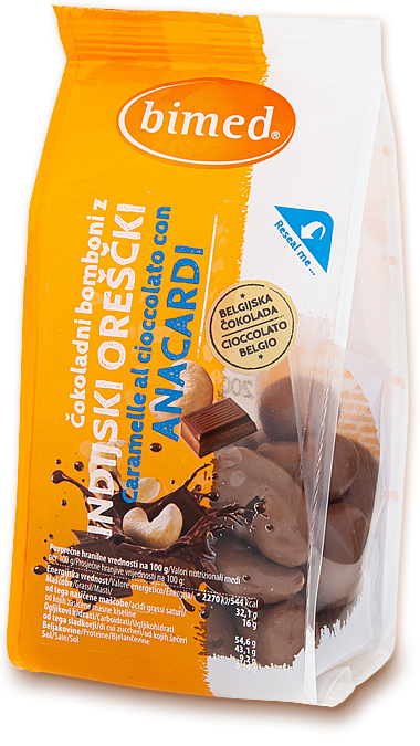 Chocolate candy with cashew 200g