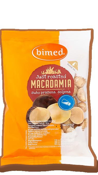 Macadamia suho pražena SOLJENA 80G