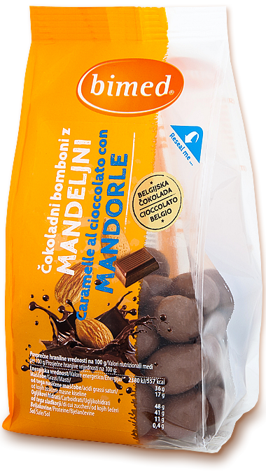 Chocolate candy with almond 200g