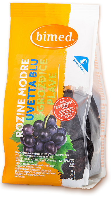 Blue raisins 200g