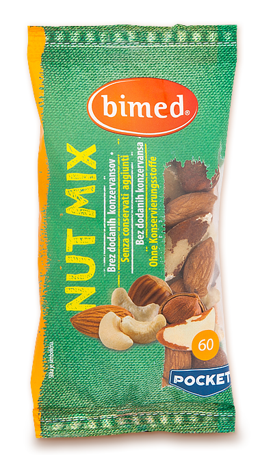 Nut mix pocket 60 g