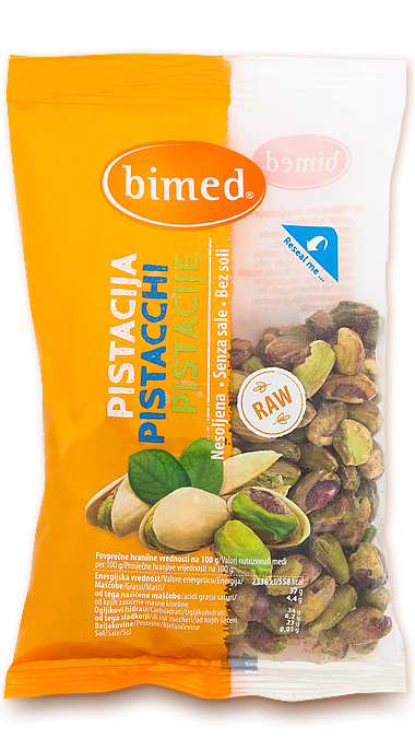 Shelled pistachio`s 100g