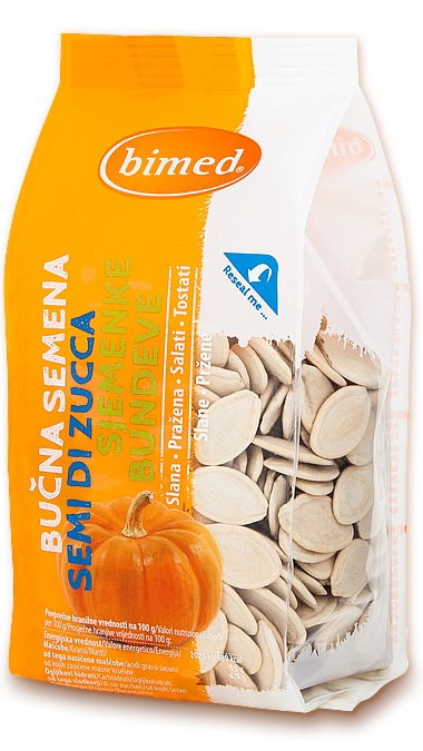 Roasted and salted pumpkin seeds 150g
