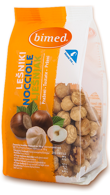 Hazelnuts roasted 150g