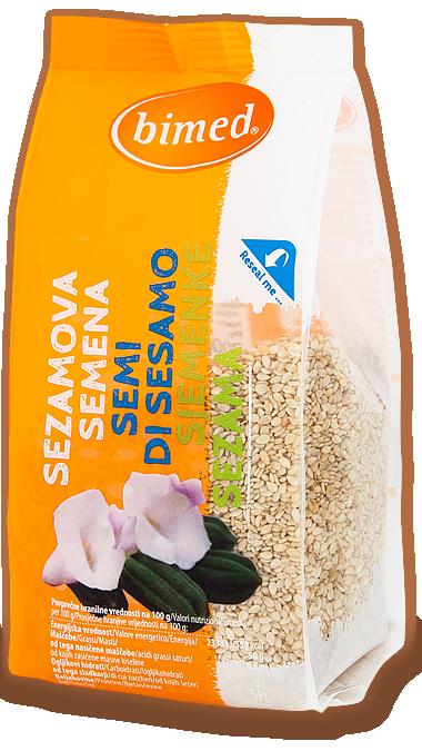 Oluščena sezamova semena 200 g